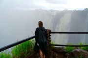 Tour of the Victoria Falls on the Zambia side