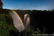 Lunar rainbow tour in Victoria Falls