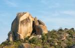 Home to unique granite boulders