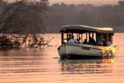 Zambezi river cruise in Victoria Falls