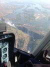 Flight over the Victoria Falls