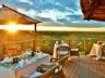 West-facing balcony ensures beautiful sunsets