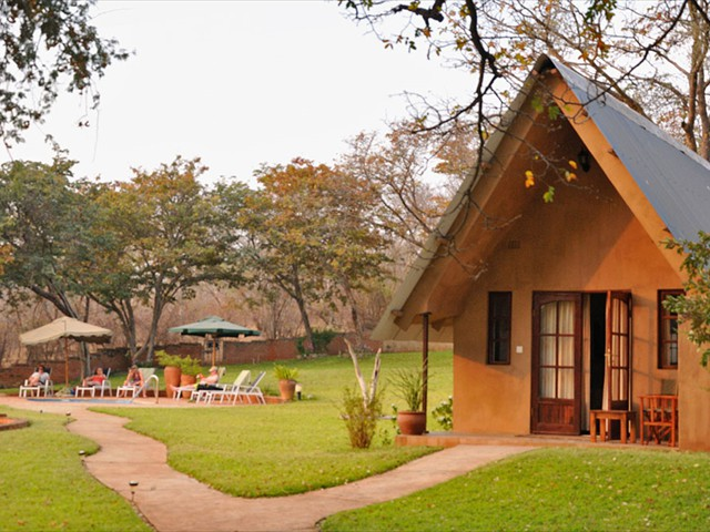 Chalet at Ursula's Homestead near Victoria Falls, Zimbabwe