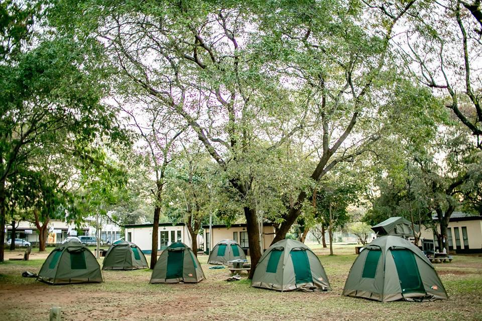 CAMPING - Victoria Falls Rest Camp