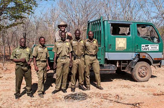 The anti-poaching unti in Victoria Falls