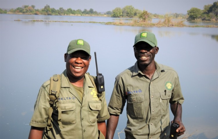 Game Scouts who patrol in and around the Victoria Falls area