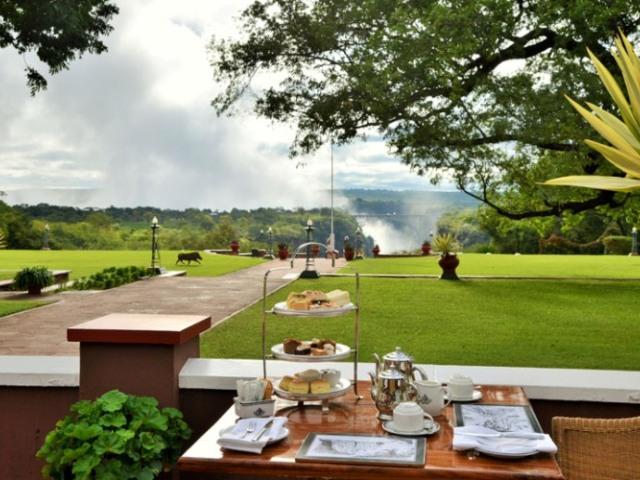 The Victoria Falls Hotel - Victoria Falls, Zimbabwe