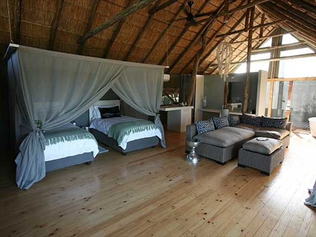 Experience luxury accommodation at Vic Falls River Lodge