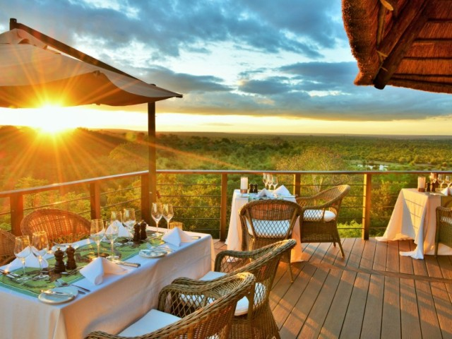 Flight and accommodation package to Victoria Falls staying at Victoria Falls Safari Club, Zimbabwe
