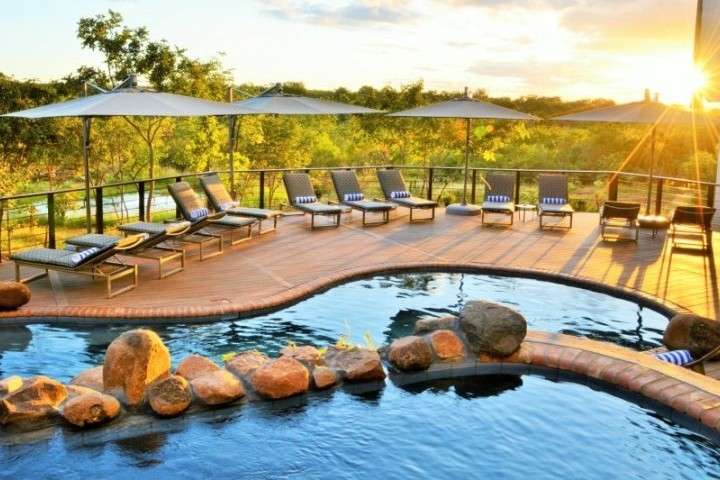 Pool and viewing deck