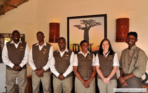 Victoria Falls Safari Clubs friendly staff