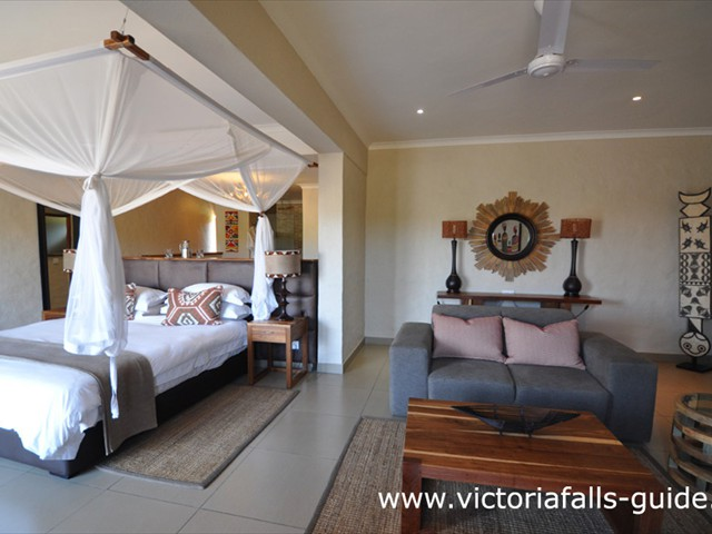 Vic Falls Safari Club suite