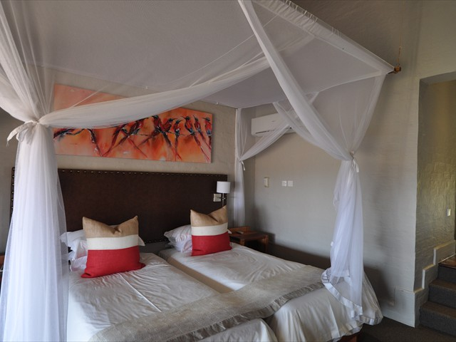 Inside a standard room at Victoria Falls Safari Lodge - Victoria Falls, Zimbabwe