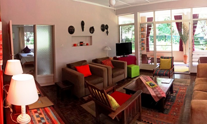 Homey lounge