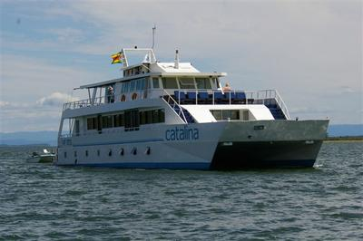 Catalina cruising on lake Kariba