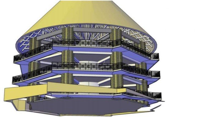 The proposed guest facilities building