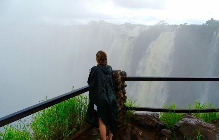 Zambia tour of the Victoria Falls