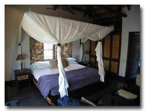 Matetsi Water Lodge Bedroom
