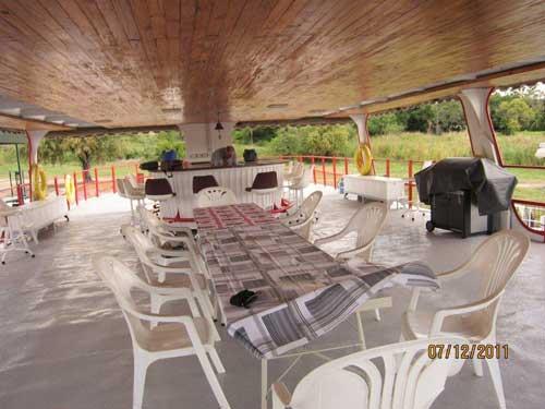 Abangane Houseboat upper deck