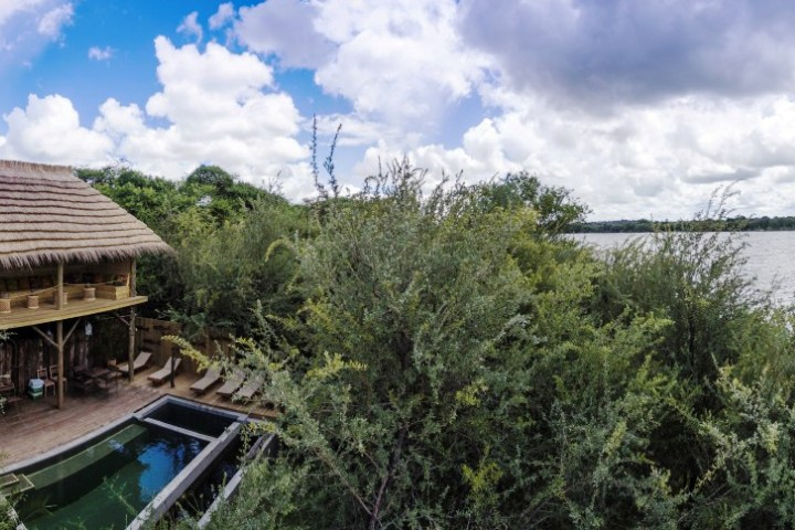 Bakwena Lodge, facing the Chobe river