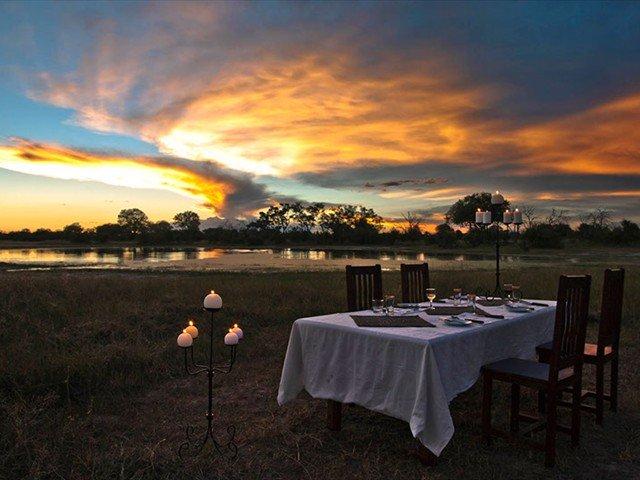 Mix safari with romance
