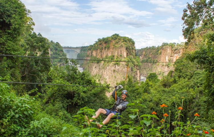 Victoria falls Canopy tour