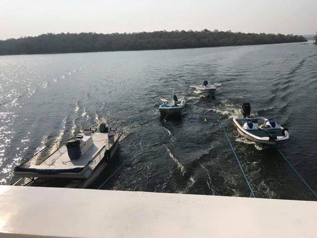 The tender boats