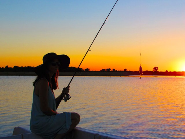 Fishing in Kariba