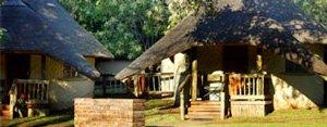 Chobe Safari Lodge Rondavels