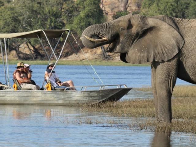 ...and boat cruises on the Chobe River