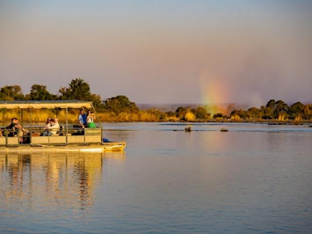 Victoria Falls classic river safari, Zambezi River in Zimbabwe