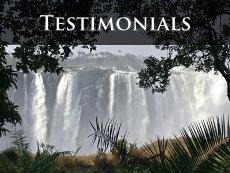 Victoria Falls client testimonials