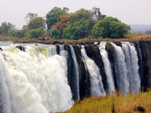 Victoria Falls and Livingstone Island