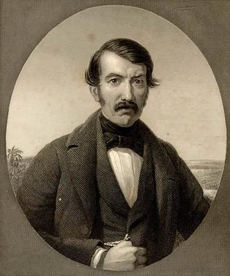 Dr David Livingstone (etching, from Missionary Travels)