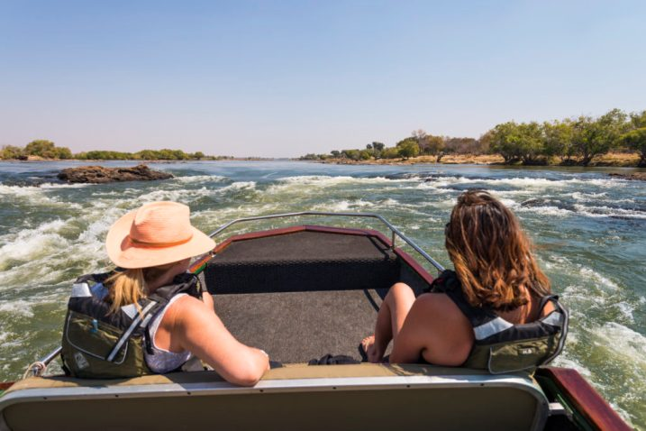 Jetting up the Zambezi