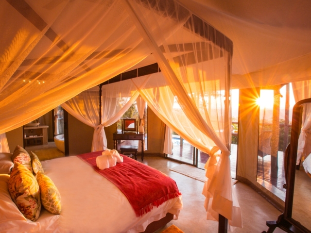 Combine Imbabala Safari Lodge and the 5 star Elephant Camp, plus return flights in this Victoria Falls package - Zimbabwe