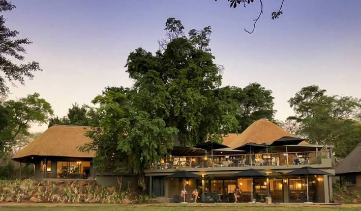 The luxurious Stanley and Livingstone Hotel