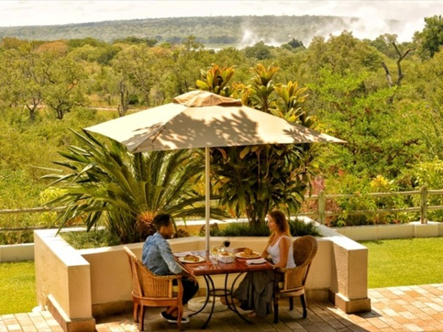 Victoria Falls package at Ilala Lodge