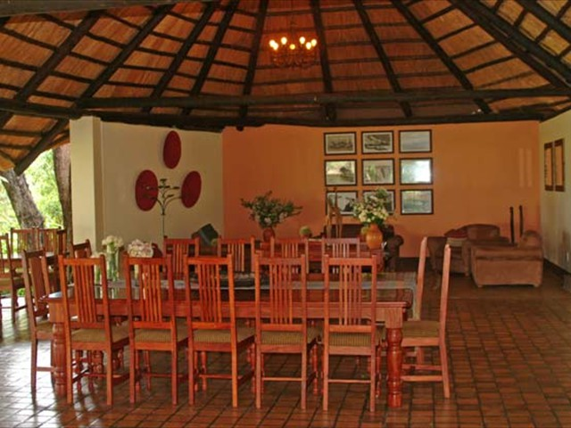 Dining area of the main lodge