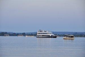 Victoria Falls jetboat cruise, Zambezi River in Zimbabwe