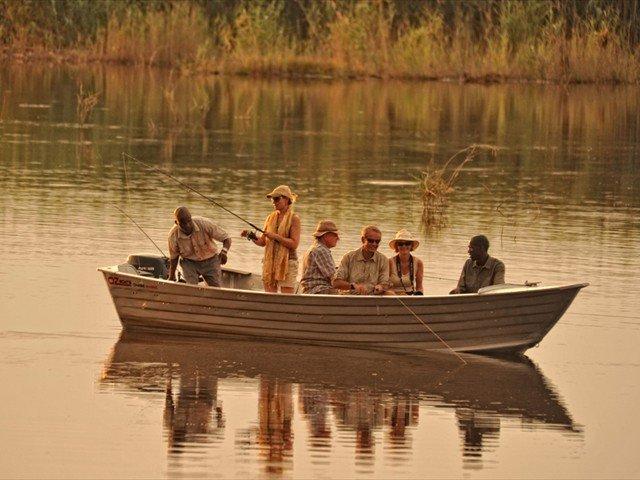 Fishing with Kanga Camp