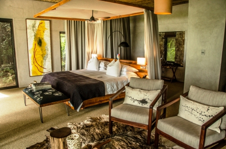 Luxurious and spacious rooms