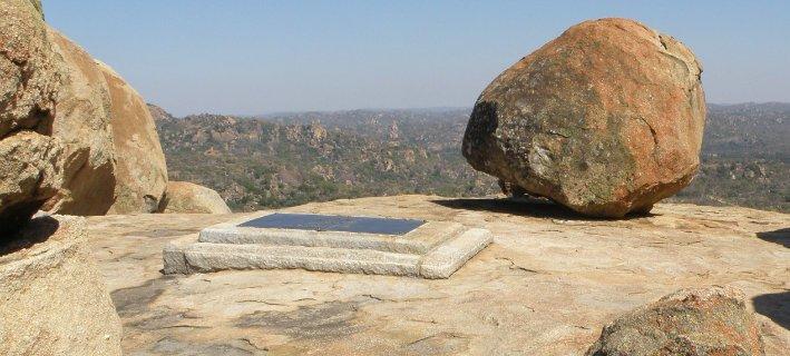Rhodes' Grave in Matopos