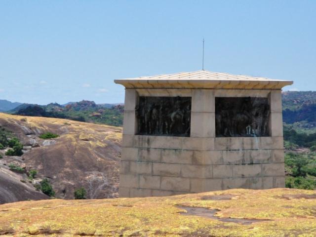 The Shangani/Allan Wilson War Memorial near Cecil Rhode's grave in Matobo Hills, Zimbabwe