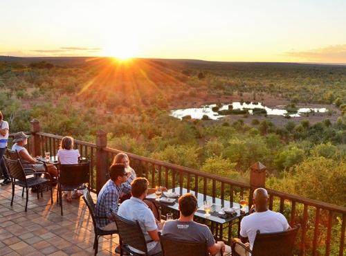 The Buffalo Bar at Vic Falls Safari Lodge