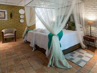 Deluxe room at Bayete Guest Lodge. Victoria Falls and Chobe safari.