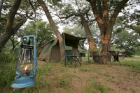Overnight camping trip inside Chobe National Park, Botswana. Victoria Falls Chobe safari.