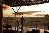The Elephant Camp in Victoria Falls Zimbabwe is a 5 star safari camp with fantastic views