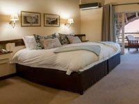 Standard double room at Ilala Lodge, Victoria Falls - Zimbabwe