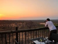 Magical sunsets from Victoria Falls Safari Club, Zimbabwe